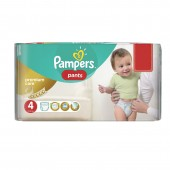 Couches Pampers premium care pants taille 4 - 66 couches bébé