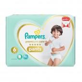 Pack de 36 Couches Pampers de Premium Care Pants sur auchan