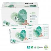 Mega pack de 100 Couches Pampers Pure Protection sur auchan
