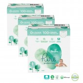 Giga pack 200 Couches de Pampers Pure Protection sur auchan
